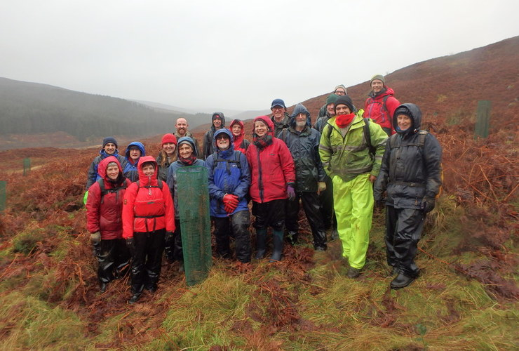 Glenlude volunteers