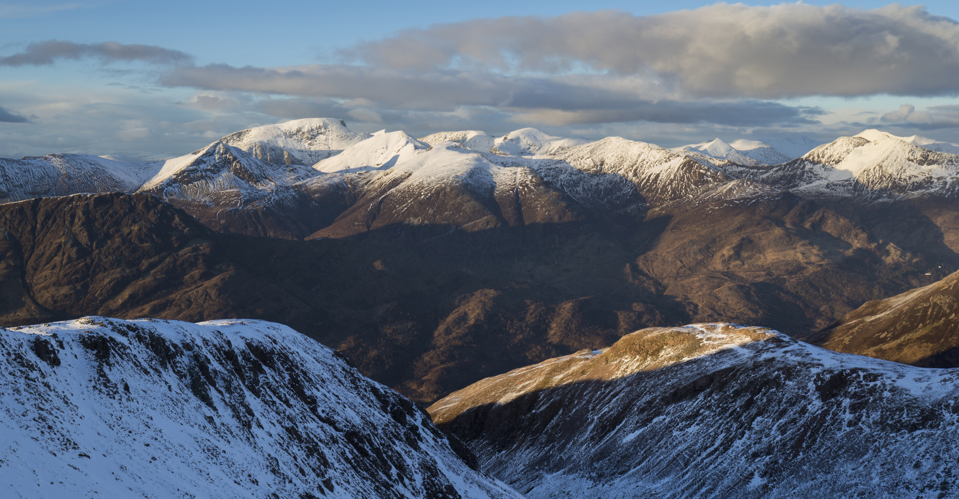 Ben Nevis and the Mamores