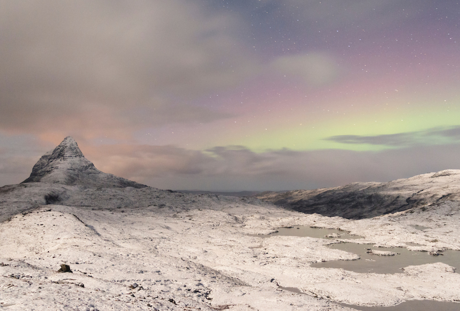Suilven in winter - Scotland the Big Picture