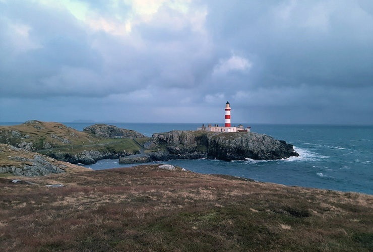 NHT - Isle of Scalpay lighthouse